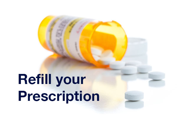 refill a perscription